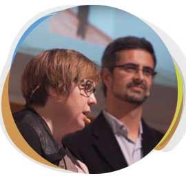 Eloisa Beltran y JFco Sanz