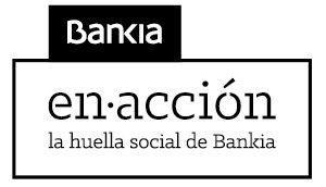 Logotipo Bankia En Acción. La Huella social de Bankia.