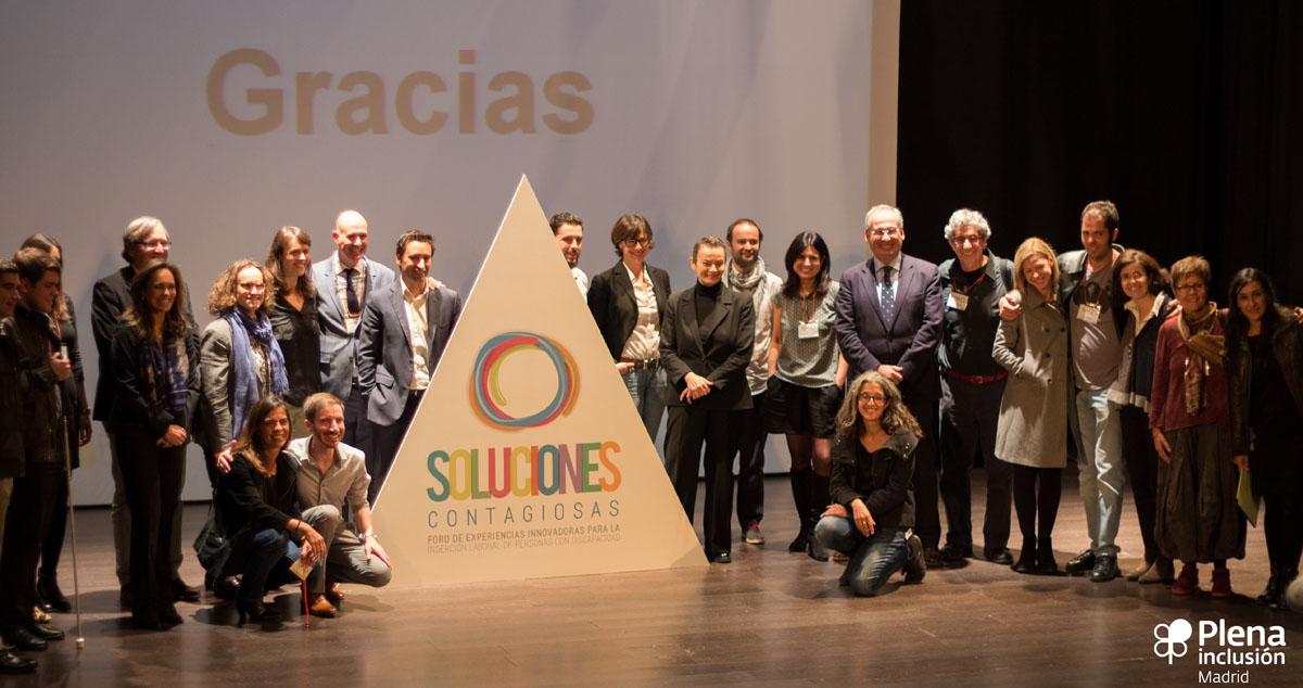 Foto de Familia Soluciones Contagiosas 2015