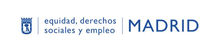logotipo area de equidad ayuntamiento madrid