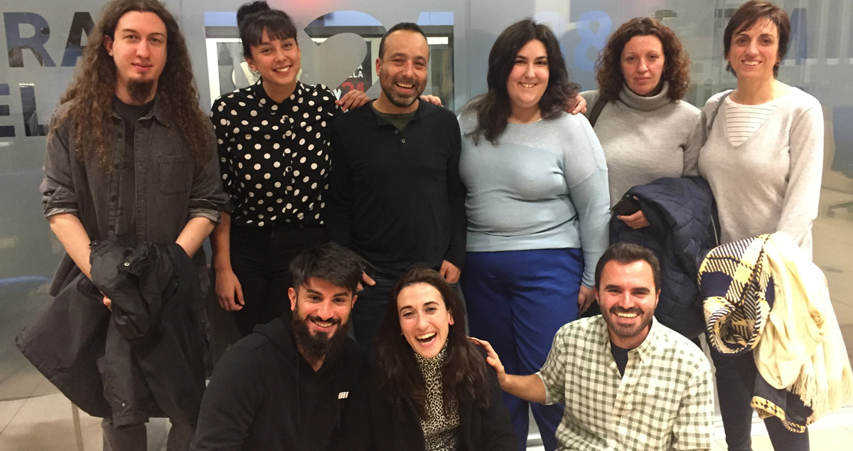 asistentes al programa Extraordinarios de M21 el 27 de noviembre de 2017