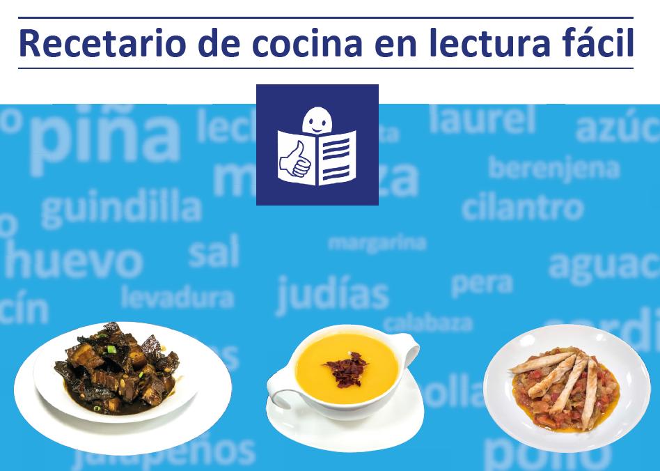Recetario de cocina en lectura f cil plena inclusi n madrid for Blogs de cocina facil