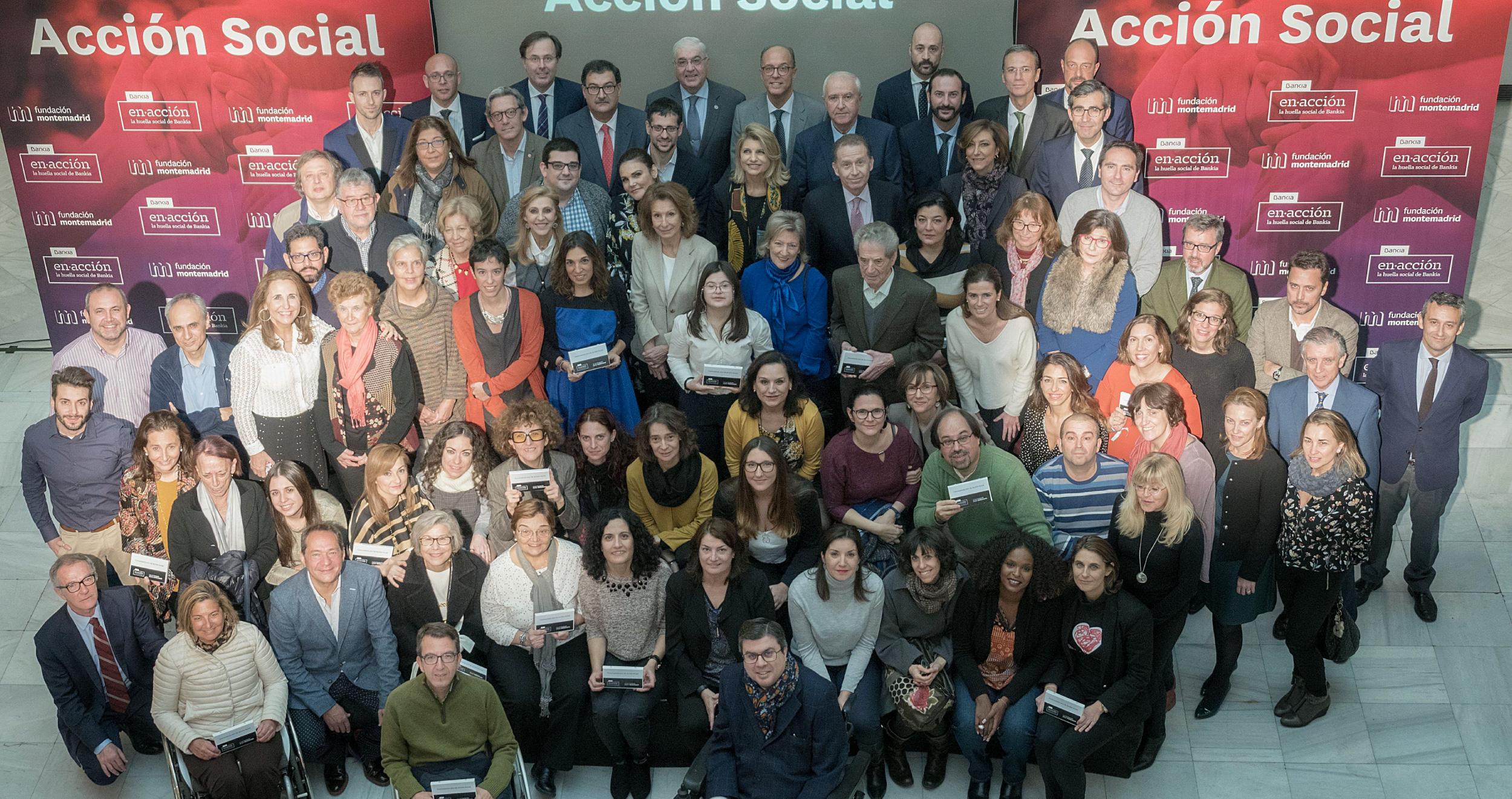 Foto de entidades seleccionadas convocatoria acción social