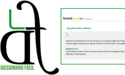 logotipo DiccionarioFácil y definición de Brexit