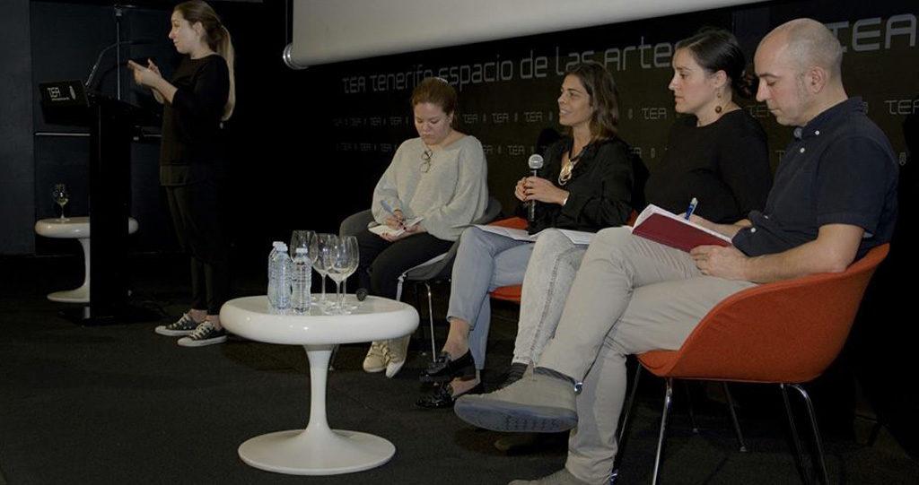 Silvia Sánchez, durante su intervención en la Jornada