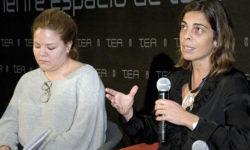 Silvia Sánchez, durante su intervención