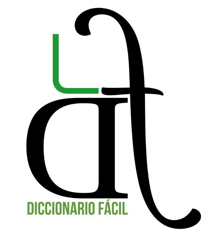 Diccionario Fácil. Logotipo. Marca.