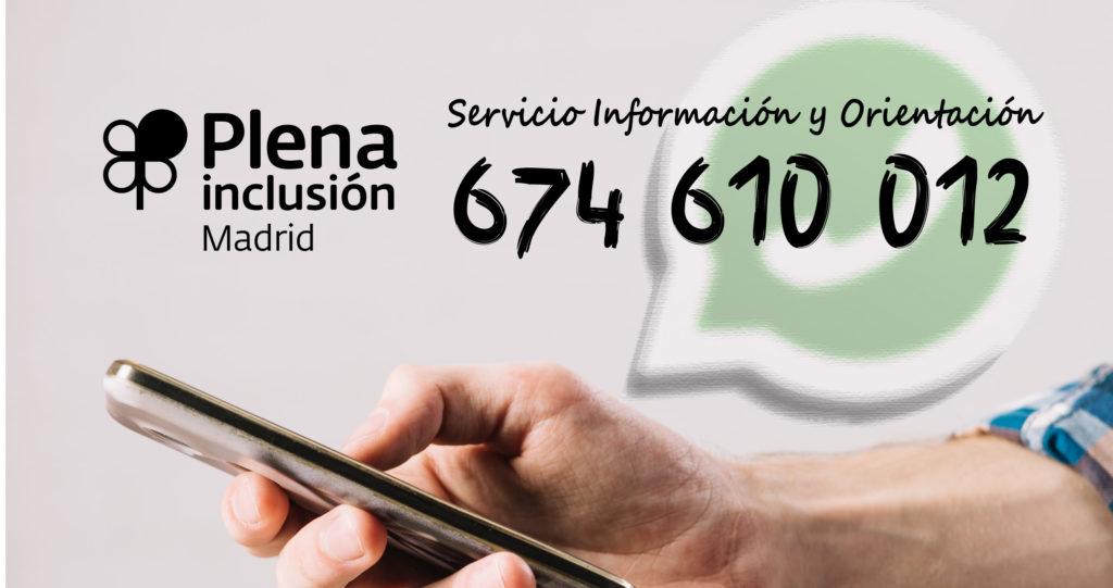 Teléfono consultas SIO en WhatsApp
