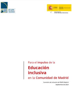 Impulso educación inclusiva