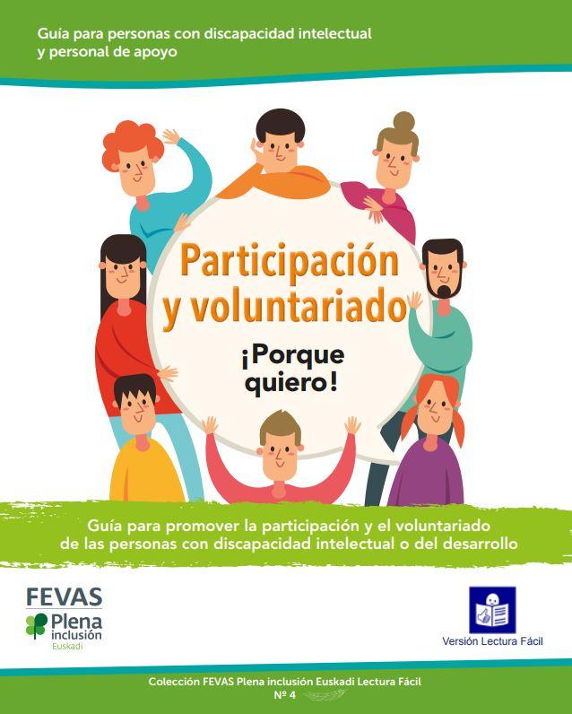 portada publicación Participación y Voluntariado