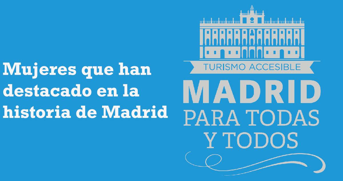 Visita guiada. Mujeres que han destacado en la historia de Madrid