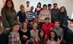 Parte del alumnado del curso de violencia de género y discapacidad intelectual