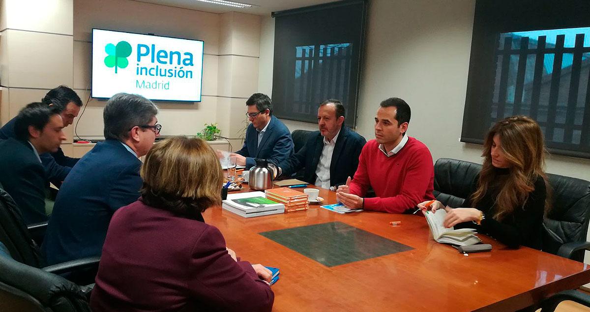 Foto reunión de trabajo