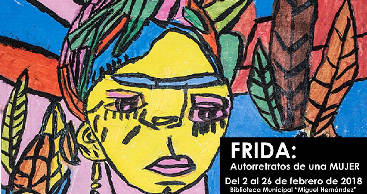 estracto cartel exposición Frida: Autorretratos de mujer