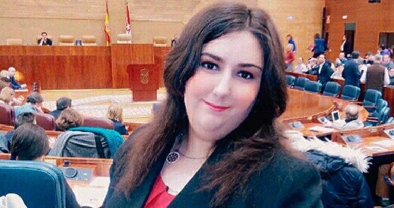 Cristina Paredero en Diputados por un Día