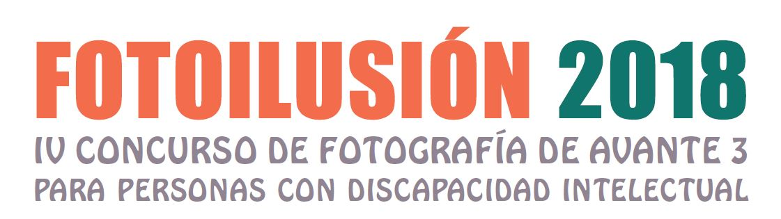 Imagen del cartel del concurso de fotografia Fotoilusión 2018, de Avante 3