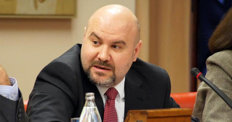 Luis Cayo, en el Congreso de los Diputados