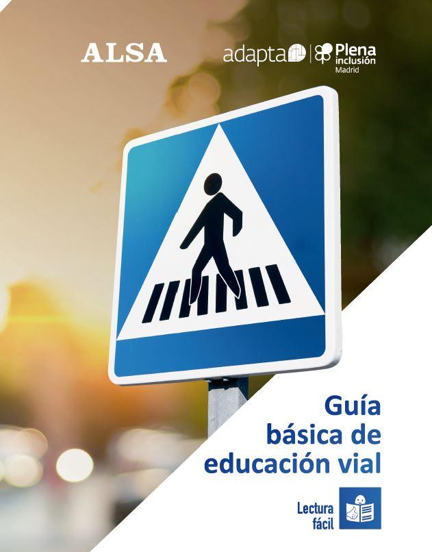 Portada de la Guía de Educación Vial