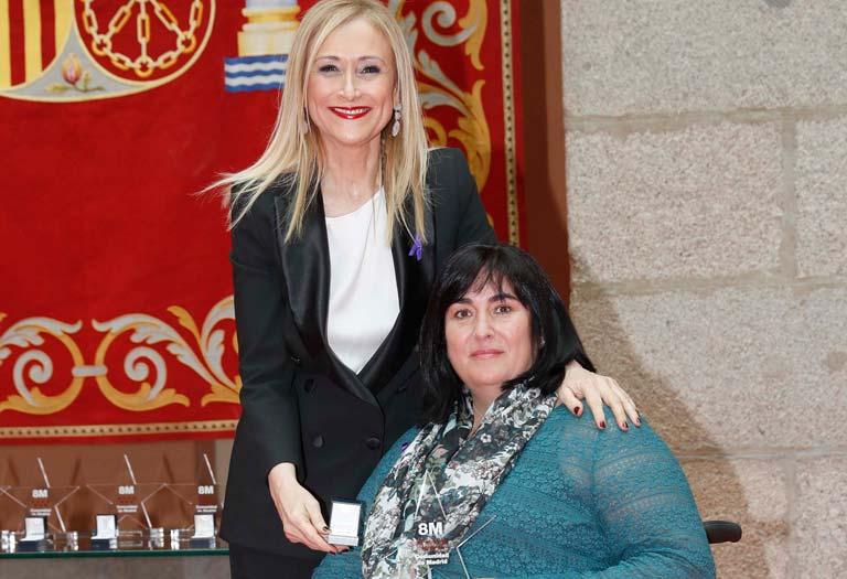 Mayte Gallego y Cristina Cifuentes