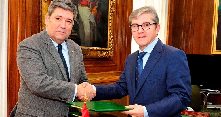 Plena Inclusión Madrid firma un convenio con la Guardia Civil para prácticas laborales