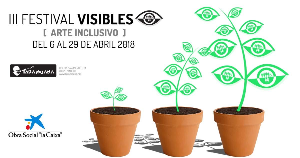 Festival Visibles. Del 6 al 29 de abril en Sala Tarambana