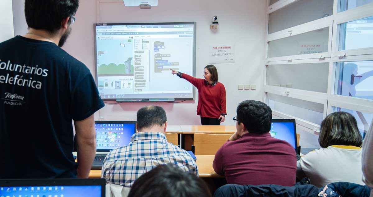 Comando Scratch: Jóvenes con síndrome de Down aprenden a programar un videojuego