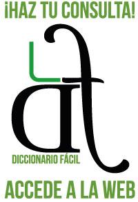 Imagen promocional Diccionario Fácil. Pincha aquí para acceder a la web de consulta