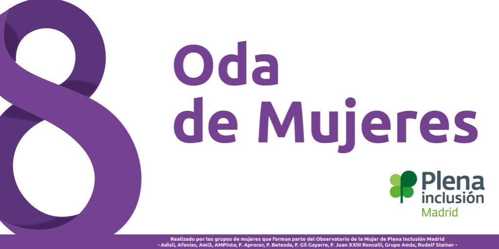 Imagen 8 marzo. Oda de Mujeres