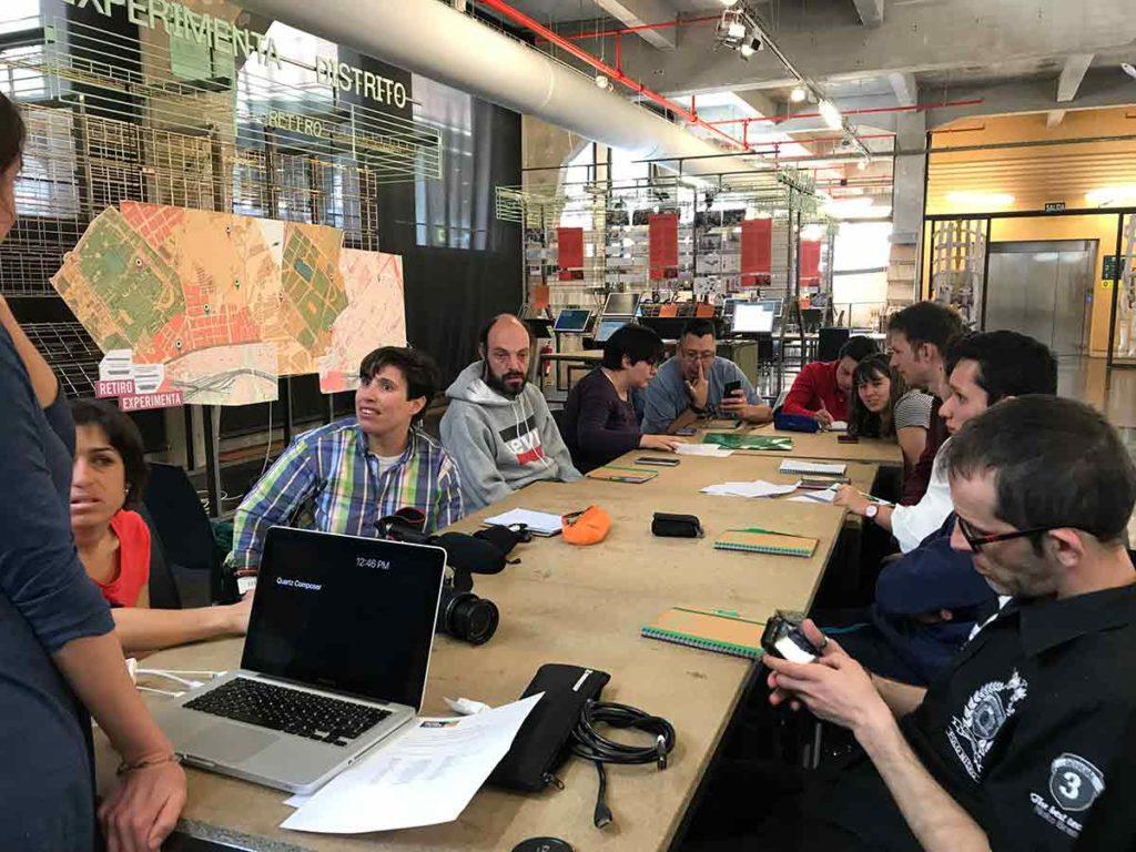 Participantes sesión