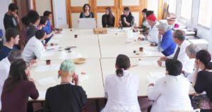 participantes en el proyecto durante la sesión de presentación