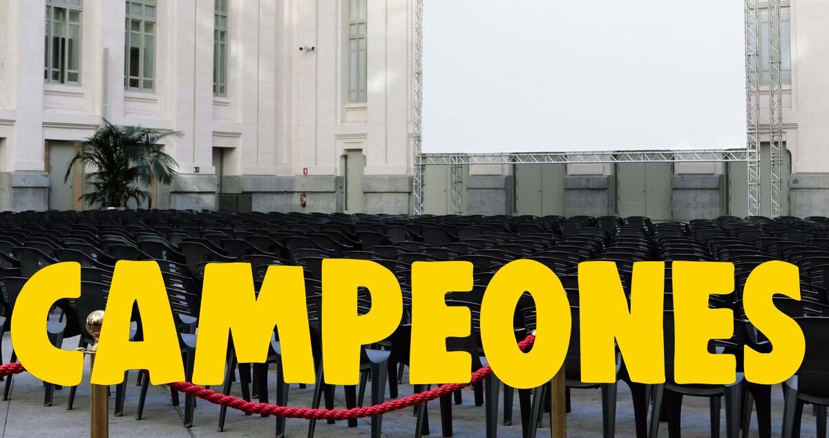 Campeones en Cibeles de Cine