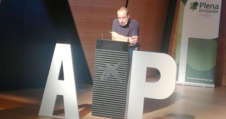 José Jiménez. Intervención en el Congreso de Asistencia Personal