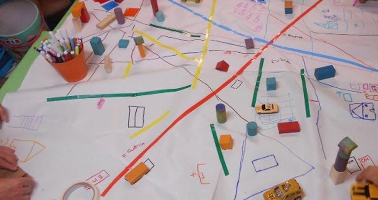 desarrollo de actividad en talleres educativos Museo ICO