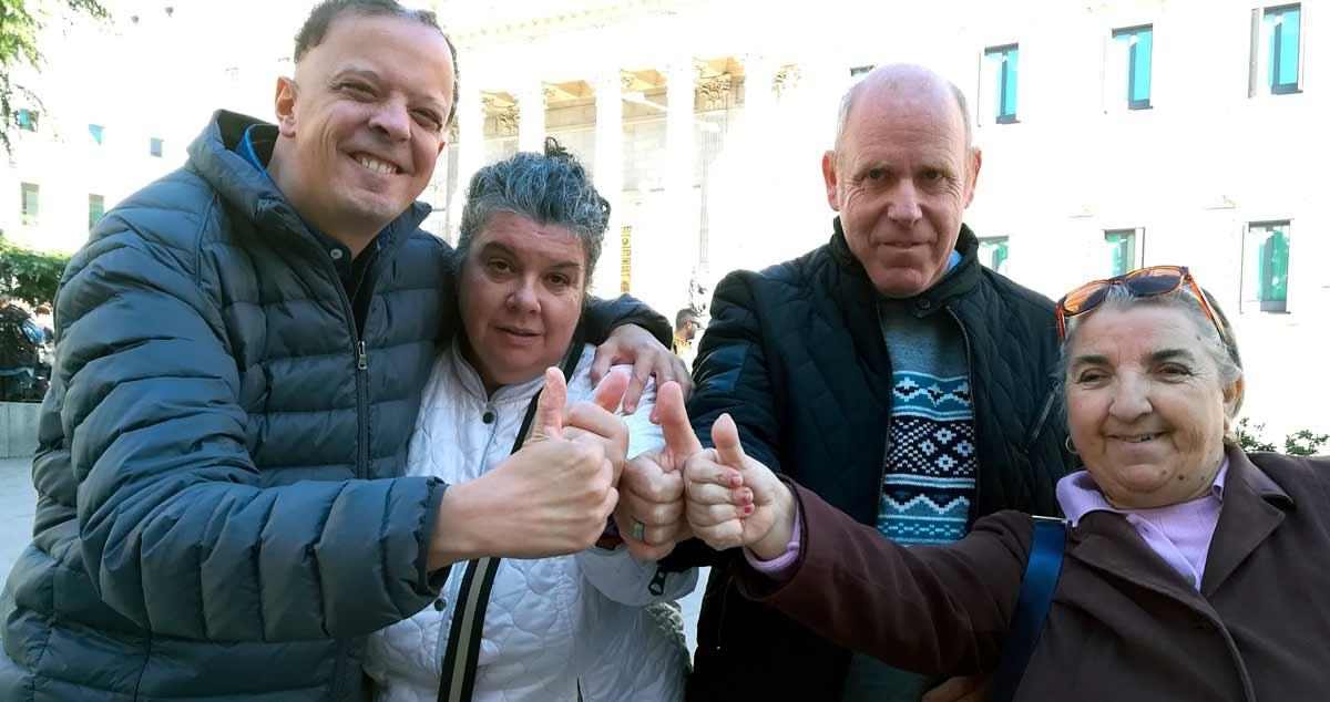 Personas con discapacidad intelectual se felicitan por recuperar su derecho al voto