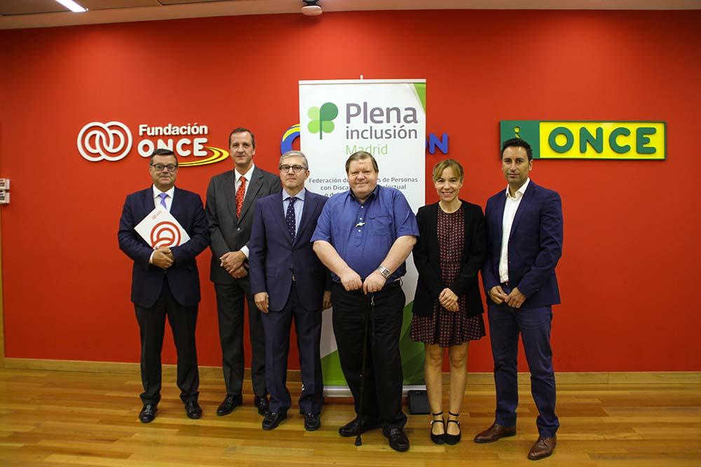 Jose Luis Martínez Donoso, Jorge Jiménez Cisneros, Mariano Casado, Robert Marin, Luisa Roldán y Javier Luengo