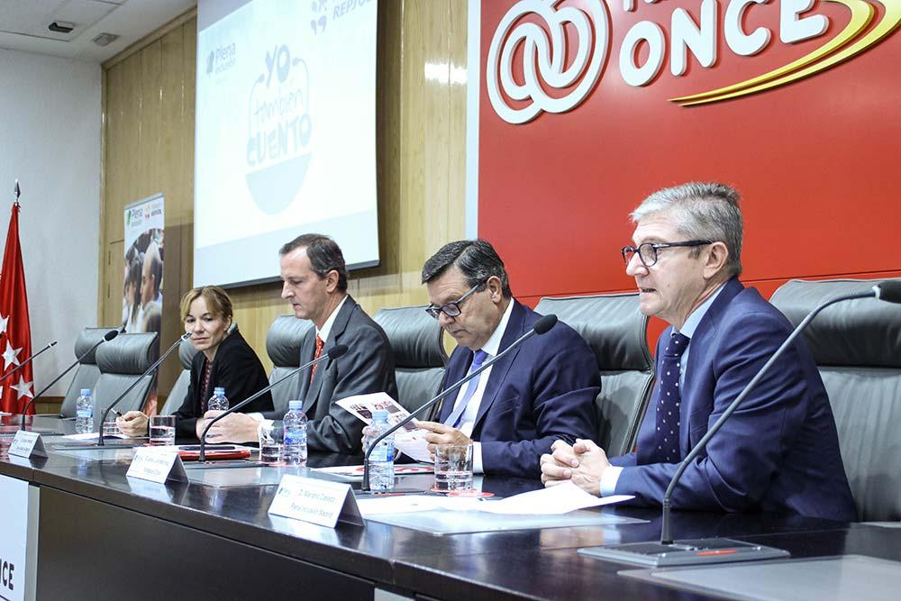 Luisa Roldán, Jorge Jiménez Cisneros, Jose Luis Martínez Donoso y Mariano Casado