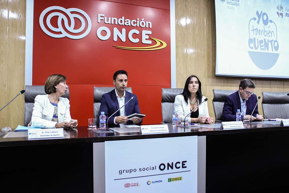 Pilar Liébana, Javier Luengo, Mónica Silvana y Tomás Marcos