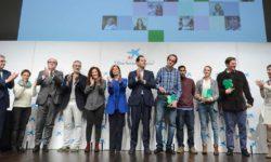 Campeones y representantes de la ASamblea de Madrid