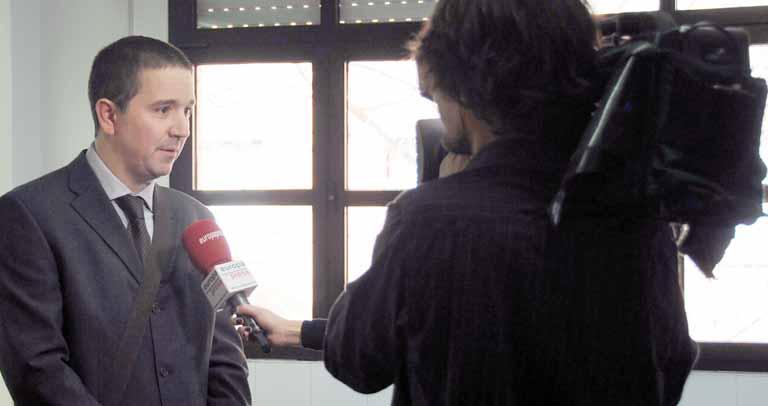 Juan Manuel Muñoz atiende a Europa Press