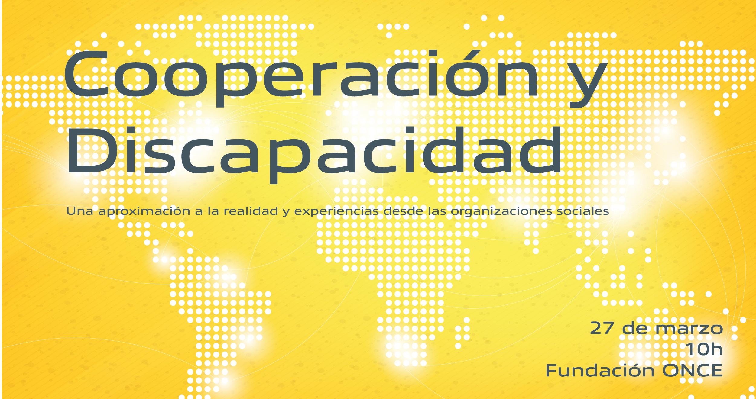 jornada cooperación y discapacidad