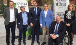 Foto Ignacio Aguado en Fundación Ademo