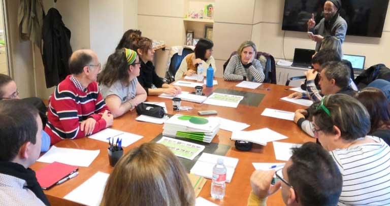 imagen de la reunión de constitucióin