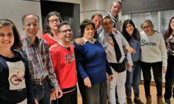 Foto de familia de los representantes