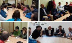 Reuniones con los grupos Coslada ASPIMIP