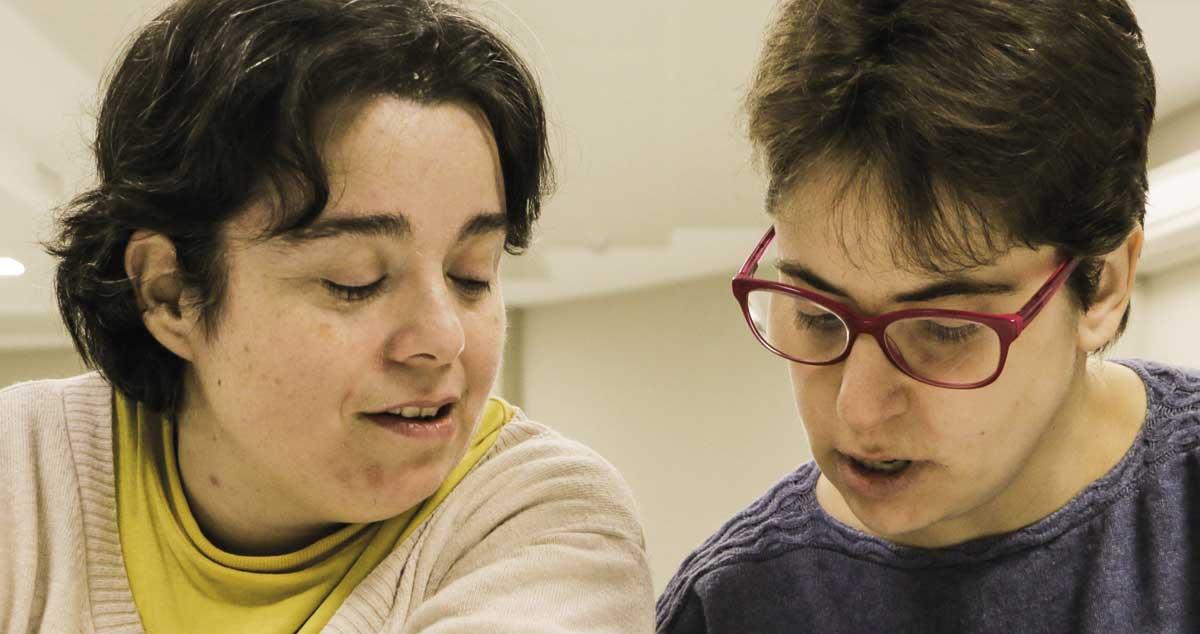 Mª Eugenia y Clara, un ejemplo de amor sin prejuicios en personas con discapacidad