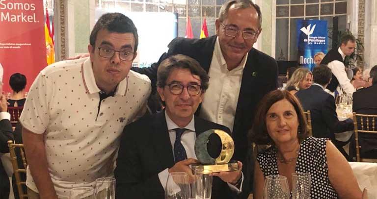 Plena inclusión reconocida con el premio Premio Psicología y Solidaridad
