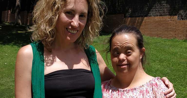 Mónica y Ana, del proyecto ¿Cómo quiero que me apoyen?