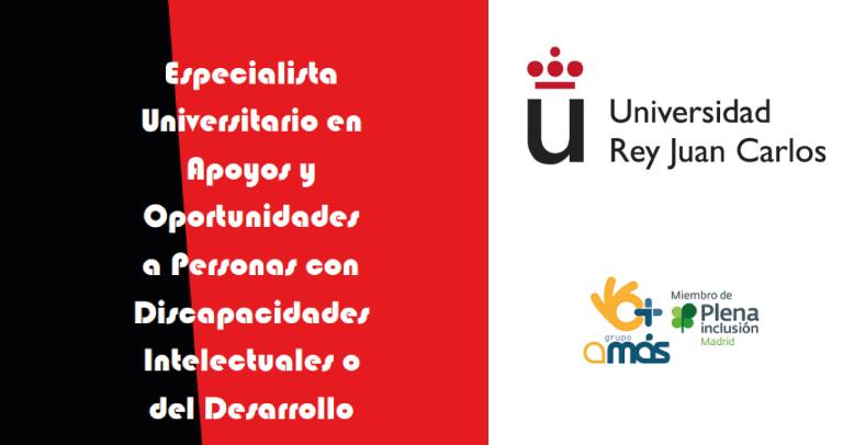 Especialista Universitario en Apoyos y Oportunidades a Personas con Discapacidades Intelectuales o del Desarrollo