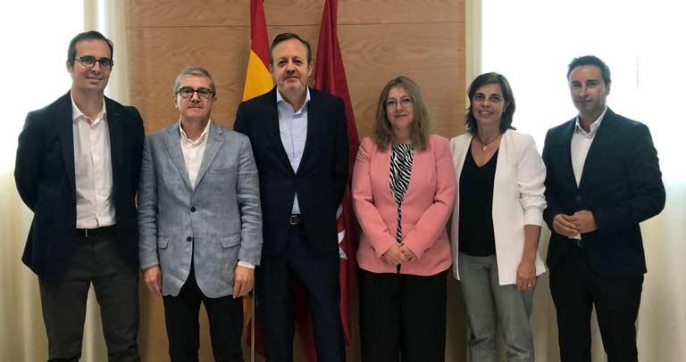 Reunión entre Plena Inclusión Madrid y responsables de la Consejería de Consejería de Políticas Sociales, Familias, Igualdad y Natalidad