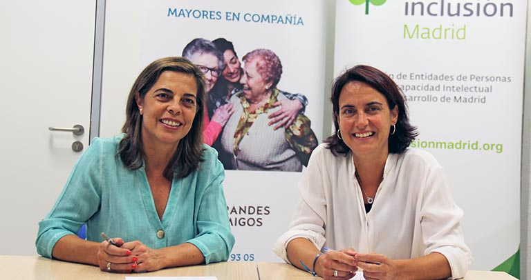 Silvia Sánchez y Mercedes Villegas